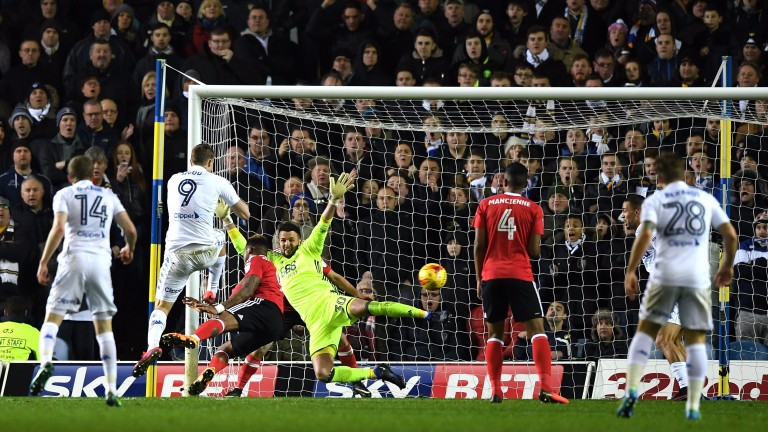 Chris Wood notches for Leeds against Nottingham Forest
