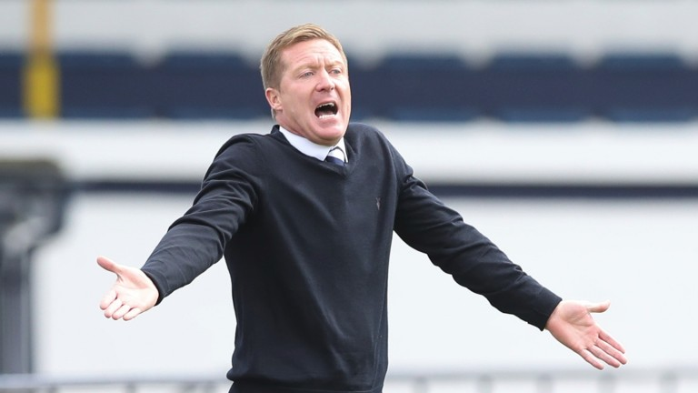 Gary Locke has dragged some crucial results from his Cowdenbeath players