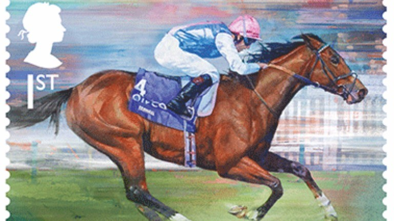 Frankel: 1st class stamp for a first-class racehorse