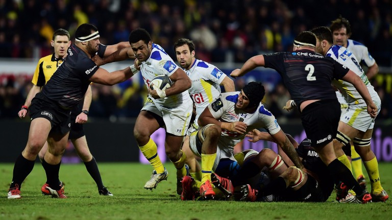 Noa Nakaitaci is the danger man for Clermont