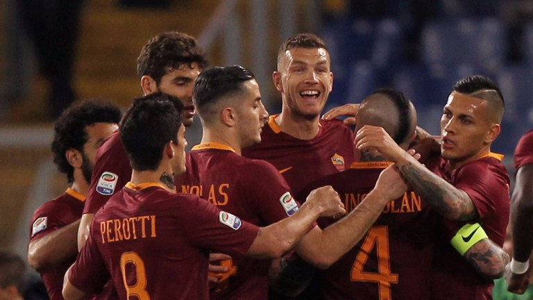 Roma are the second-highest scorers in Serie A