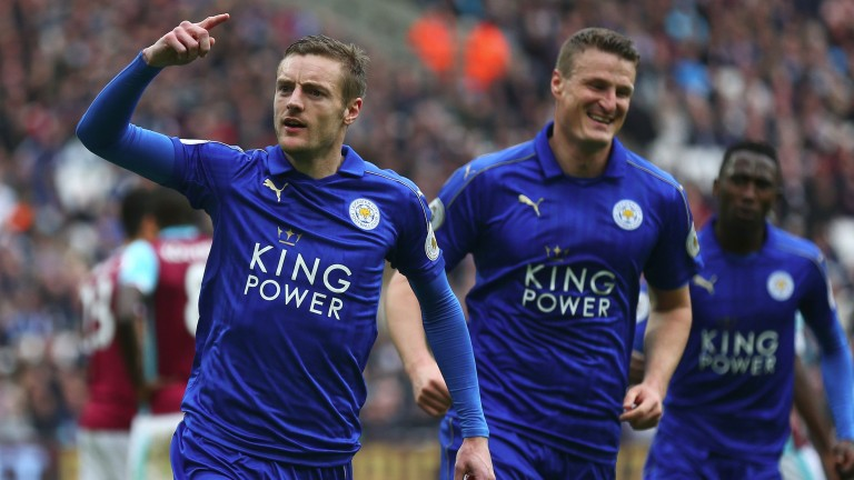 Jamie Vardy has scored 12 goals this season