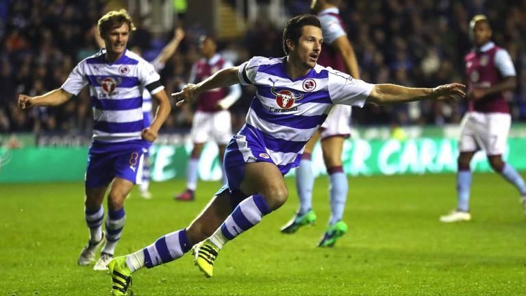 Yann Kermorgant netted Reading's winner against Leeds