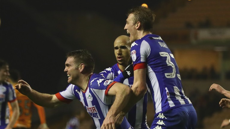 Wigan have seven games in which to stave off relegation