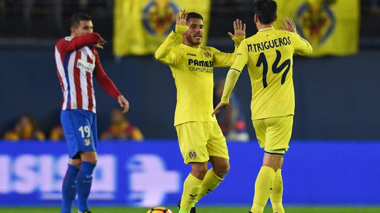Manu Trigueros is part of a free-scoring Villarreal midfield