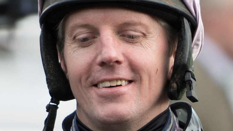 Noel Fehily: hoping some of Nigel Twiston-Davies's Grand National luck rubs off when he rides Blaklion for the stable