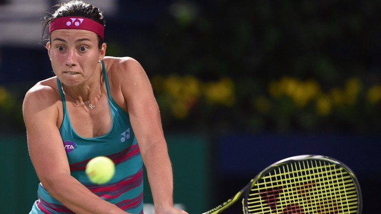 Anastasija Sevastova reached the semi-finals in Dubai