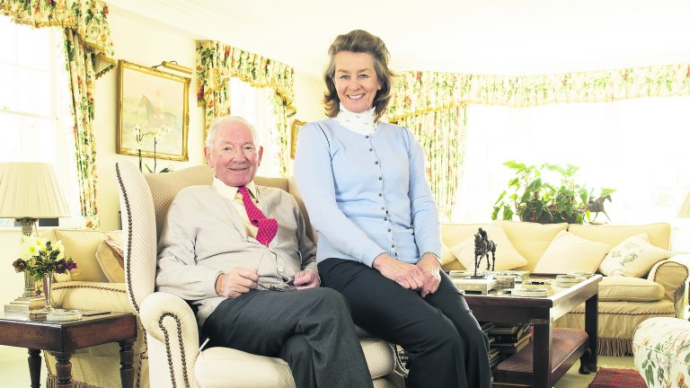 Barry Hills turned 80 on Sunday and wife Penny celebrates her birthday today