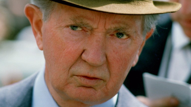 Vincent O'Brien: Burns enjoyed a long and successful relationship with the master trainer