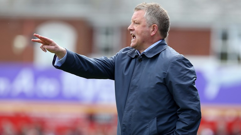 Sheffield United boss Chris Wilder is set for back-to-back promotions