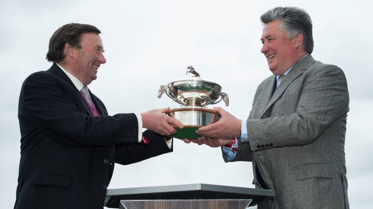Nicky Henderson and Paul Nicholls received OBEs in the New Year Honours List