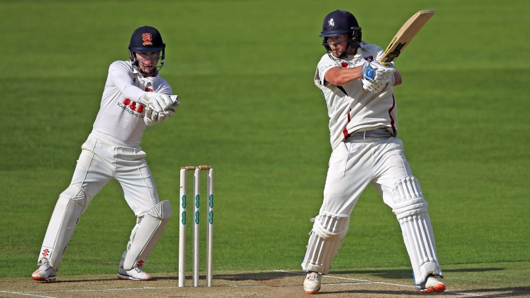 Sam Northeast goes on the attack for Kent against Essex