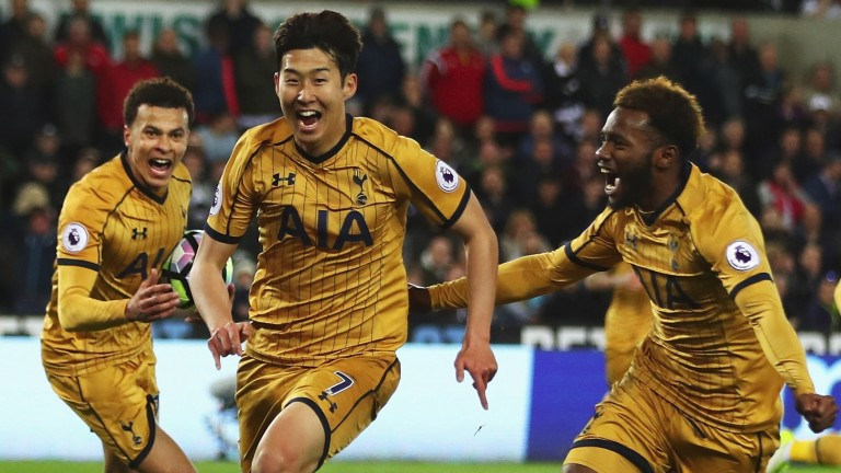 Heung-Min Son was Tottenham's hero in midweek