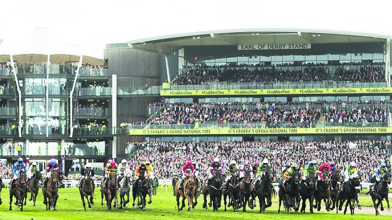 Grand National: runners and riders were twice called back at the start