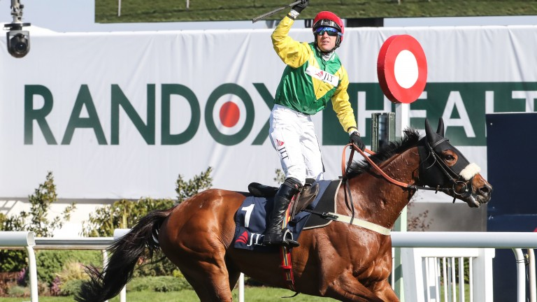 Fox Norton and Robbie Power landed a second Grade 1 together at Punchestown