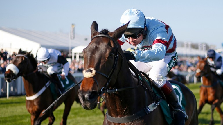 Lalor gives Richard Johnson an Aintree victory in the Grade 2 bumper