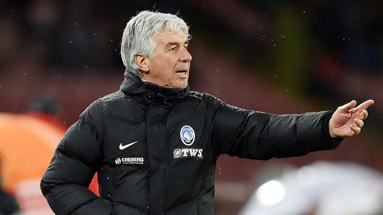 Atalanta are coached by Gian Piero Gasperini