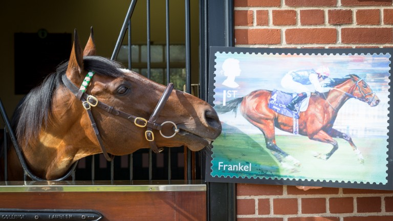 Frankel gives his new stamp the seal of approval