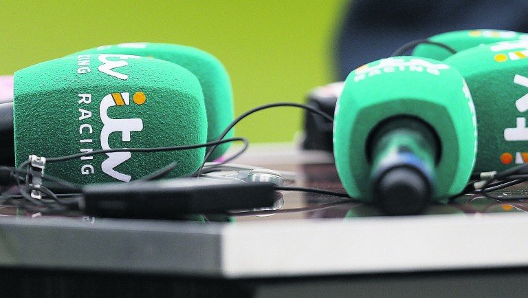 ITV Racing: enjoyed record equaling peak audience share