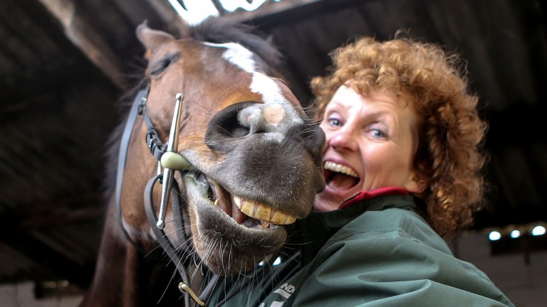 One For Arthur and Lucinda Russell were laughing loudest and longest at the trainer's Kinross yard the morning after their magnificent Grand National victory