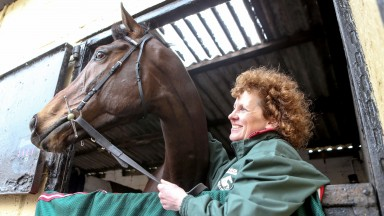 Lucinda Russell and Grand National winner One For Arthur