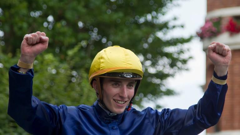 Pierre-Charles Boudot broke through the 300-winner barrier in 2016