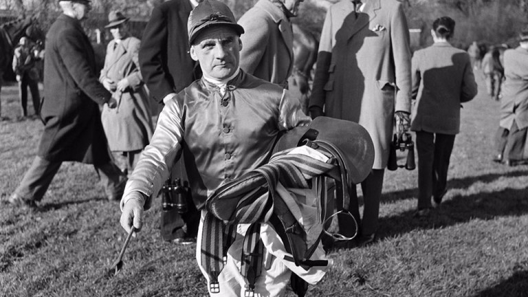 Sir Gordon Richards at Kempton in April 1953