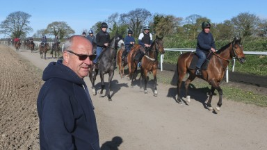 Richard Fahey: trainer has an exciting squad for the season