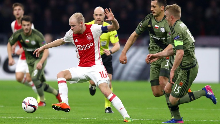 Davy Klaassen is a key man for Ajax who should prove too strong for Schalke