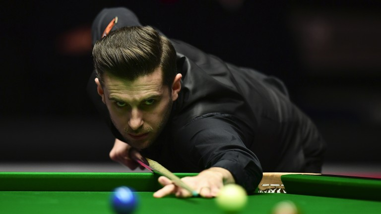 Mark Selby is chasing his third Crucible crown