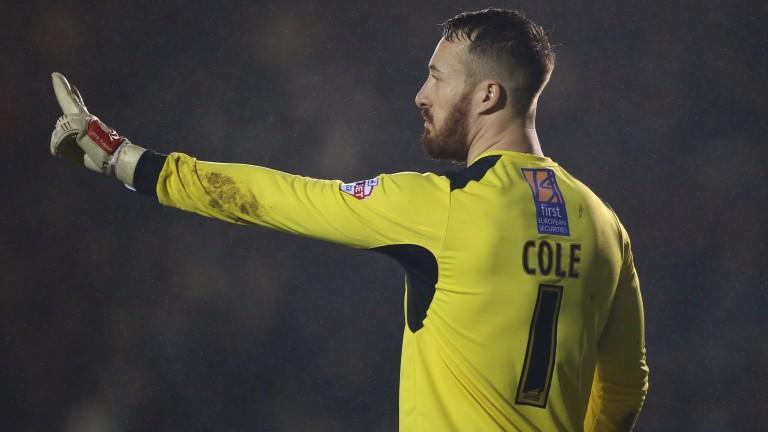 Goalkeeper Jake Cole is an injury doubt for Aldershot