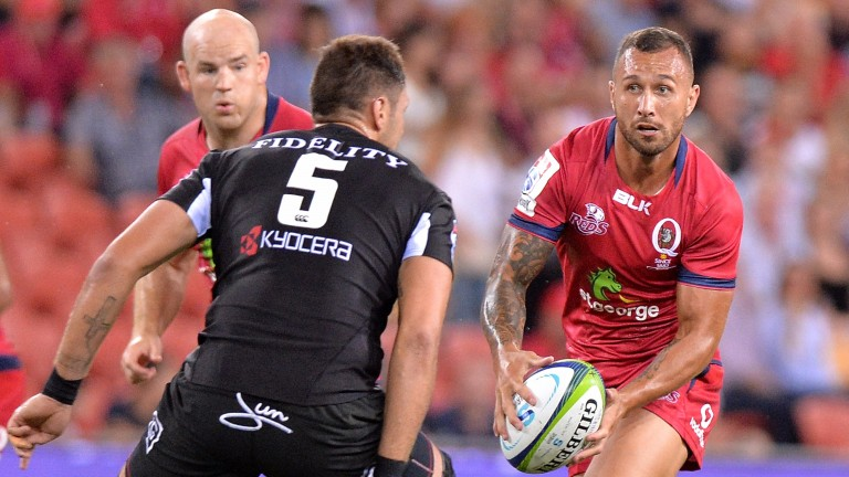 Quade Cooper returns from suspension for the Reds