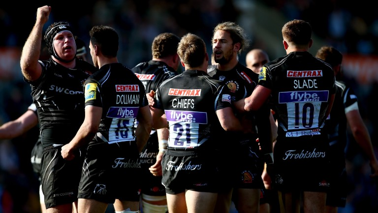 Exeter haven't tasted Premiership defeat since October
