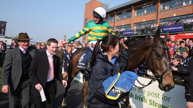 Shutthefrontdoor and Barry Geraghty return in triumph after the 2014 Irish National