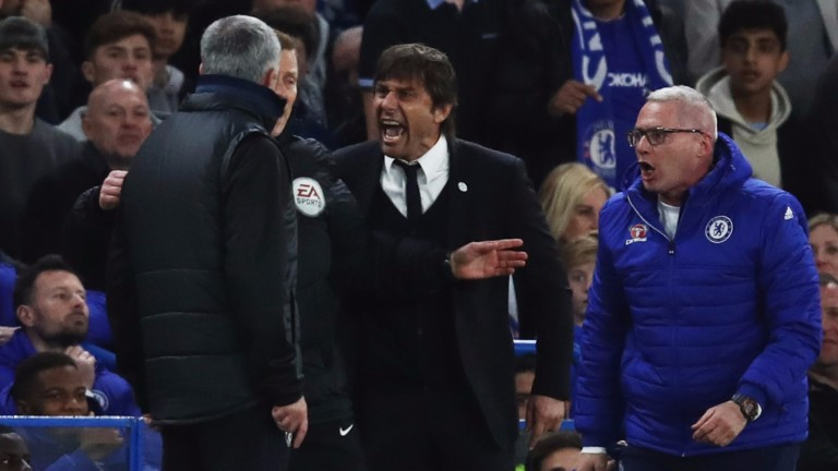 Jose Mourinho and Antonio Conte are not the best of mates