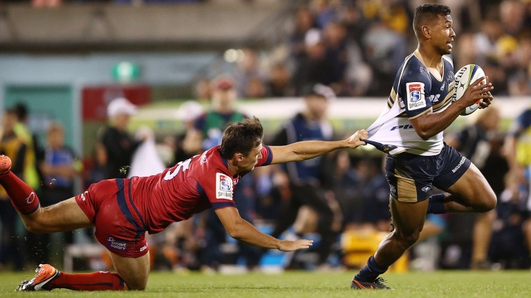 The Brumbies were convincing winners against the Reds in round seven