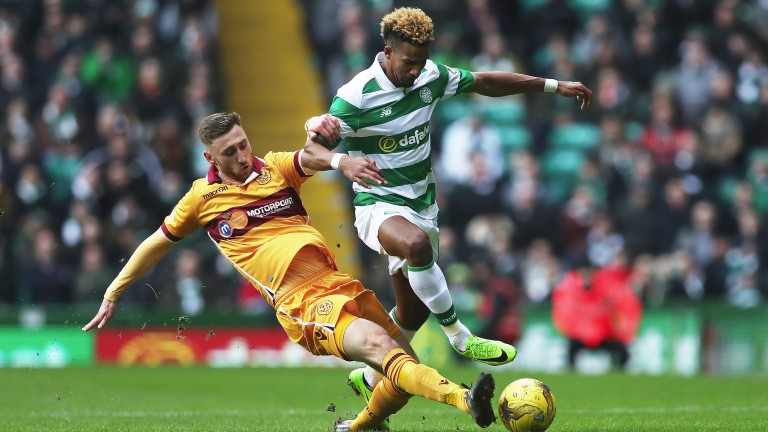 Louis Moult (left) is pivotal to Motherwell's survival chances