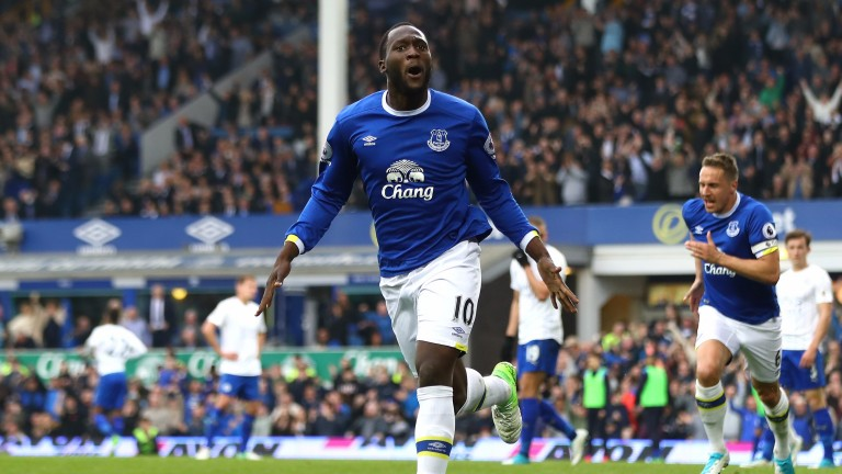 Everton's Romelu Lukaku is the Premier League's leading goalscorer