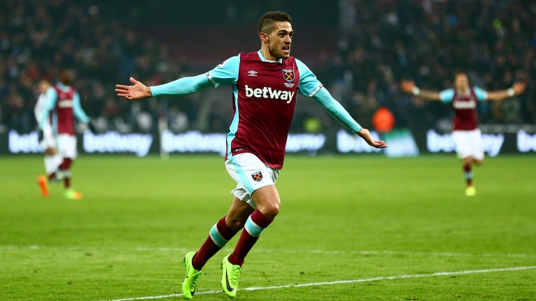 West Ham's Manuel Lanzini could be a decent first goalscorer bet