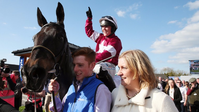 Sandra Hughes (right): took over from her late father Dessie in November 2014