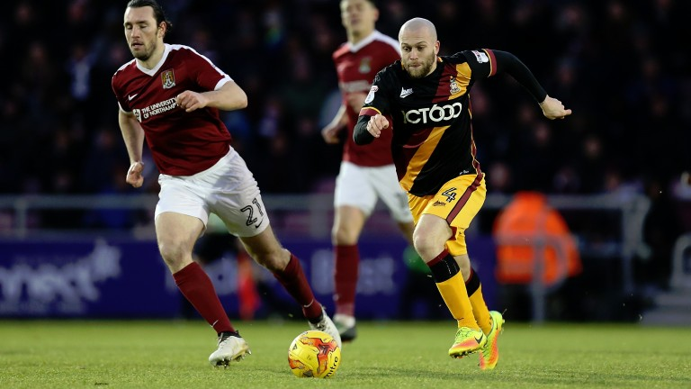 Nicky Law goes on the attack for Bradford