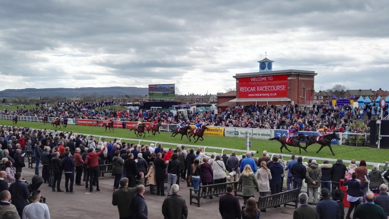 Redcar has one of its feature meetings of the year on Monday