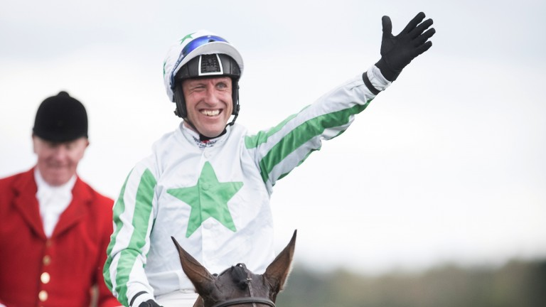 Picture of joy: Robbie Power is beaming with delight after his Irish National success