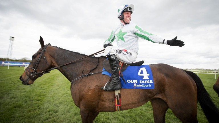 Our Duke: 11-10 with Paddy Power that Robbie Power rides the Irish Grand National winner in the 2018 Cheltenham Gold Cup