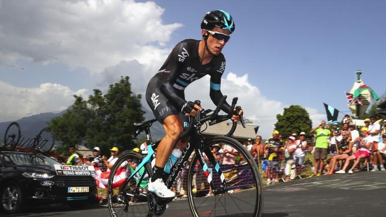 Team Sky climber Sergio Henao