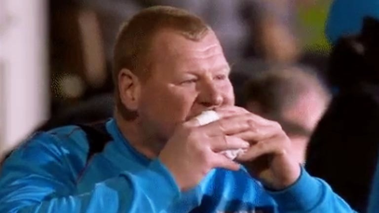Wayne Shaw: the former Sutton United keeper will be hoping to stop more than the pie van when he takes part in the Paddy Power Penalty Potshot