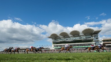 Three races will come live from Newmarket