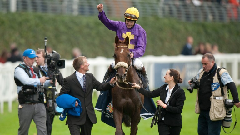 Rite Of Passage (Pat Smullen): after winning the Long Distance Cup