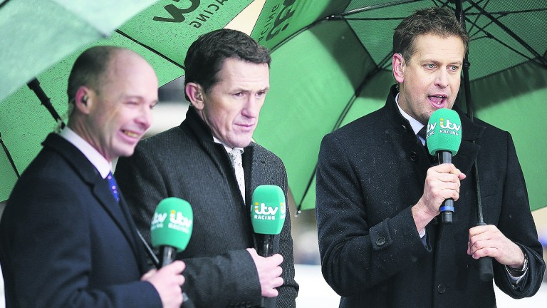 The ITV Racing cameras will be at Ayr and Newbury on Saturday