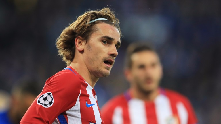 Atletico Madrid's top goalscorer Antoine Griezmann